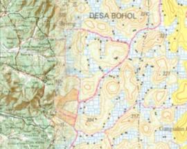 Mengenal perbedaan dasar Peta RBI dan Topografi