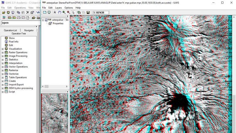 Cara Membuat Visualisasi Anaglip dengan Ilwis