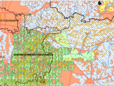 Peta RBI Rupabumi Indonesia multiskala DIY Spasialkancom