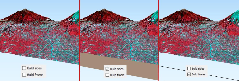 Tutorial WebGIS Animasi 3 Dimensi dengan QGIS2ThreeJS - Sides Frame