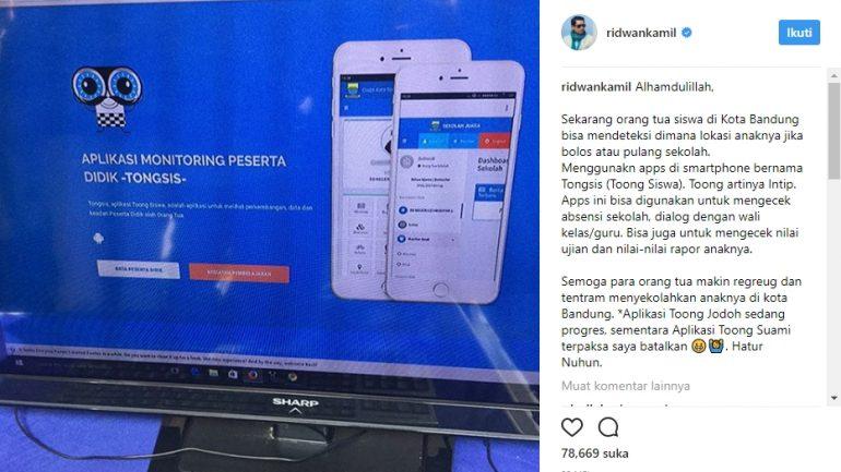 Lacak Posisi_Tongsis Bandung_Ridwan Kamil_1