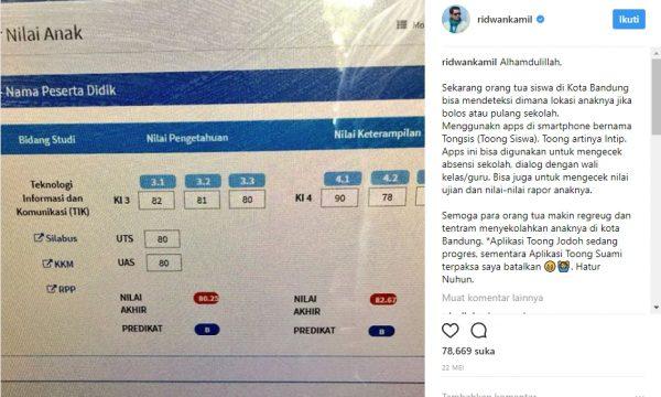 Lacak Posisi_Tongsis Bandung_Ridwan Kamil_2