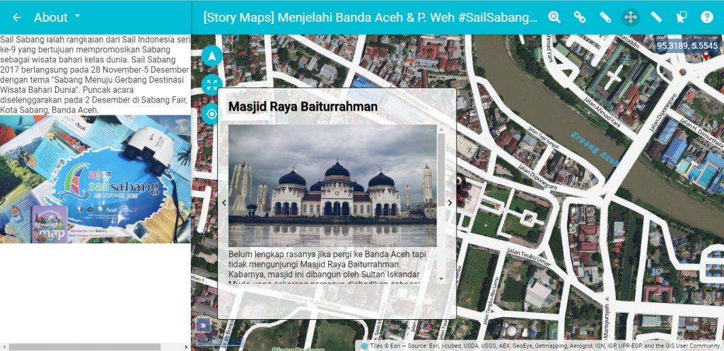 Sabang Sail 2017_Story Maps Boundless Menjelajahi Banda Aceh dan Pulau Weh
