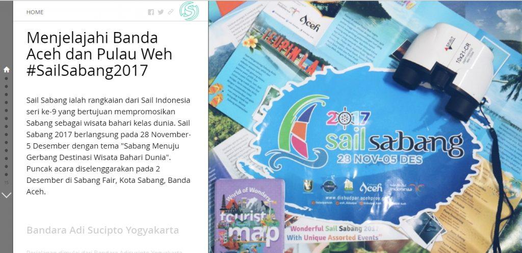 Sabang Sail 2017_Story Maps ESRI Menjelajahi Banda Aceh dan Pulau Weh