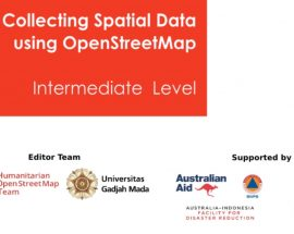 Cover Ebook Tutorial Collecting Spatial Data using OpenStreetMap (OSM) [Intermediate Level]