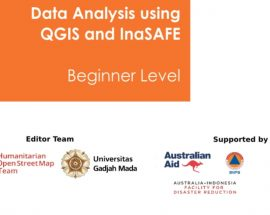 Cover Ebook Tutorial Data Analysis using QGIS and InaSAFE [Beginner Level]