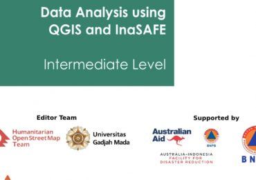 Cover Ebook Tutorial Data Analysis using QGIS and InaSAFE [Intermediate Level]