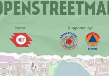 Cover Modul Panduan Mengumpulkan Data Menggunakan OpenStreetMap (OSM)
