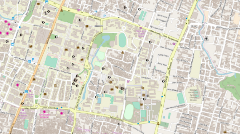 Tutorial Download Data Spasial Digital OSM OpenStreetMap - Peta SHP