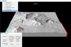 Tutorial Visualisasi 3 Dimensi Relief Permukaan Bumi Anaglyph - Tampilan Anaglip