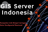 Kumpulan Daftar Link GIS Server Simpul Jaringan Data Geospasial Nasional Indonesia