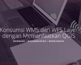 Tutorial Konsumsi Layer WMS WFS dari Geoserver ArcGIS Server dengan QGIS