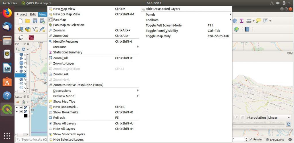 3D Map View Fitur Baru di QGIS 3 Install Ubuntu 18.04