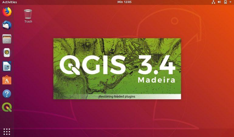 Fitur Baru 3D Map View QGIS 3 Tidak Muncul di Ubuntu 16.04 18.04