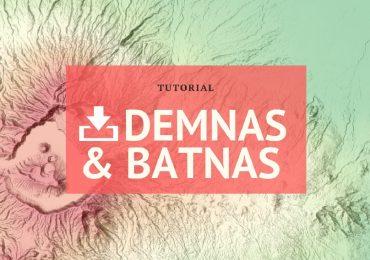 Download Batrimetri Nasional dan DEMNAS 8 meter Nasional Indonesia