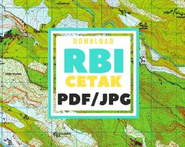 Tutorial Download Peta Rupabumi Indonesia Cetak Format pdf dan jpg