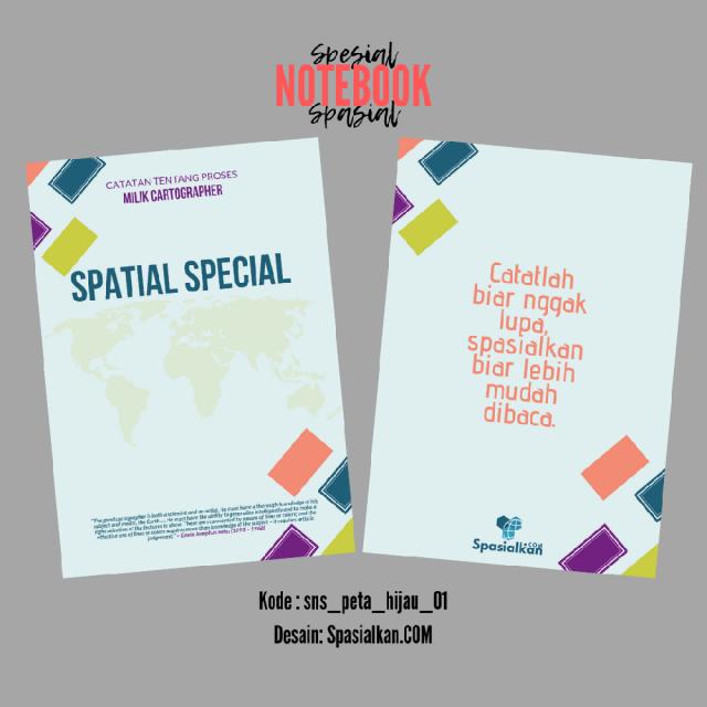 Official Merchandise – Spesial Notebook Spasial Desain Produk SpasialkanCOM