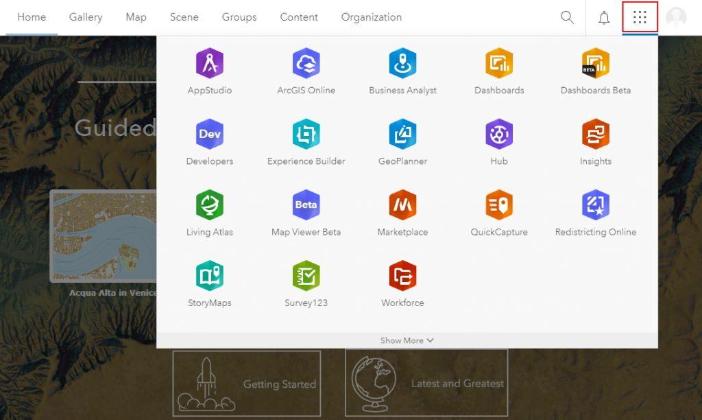 Berbagai Fitur-fitur ArcGIS Online Akun Organisasi