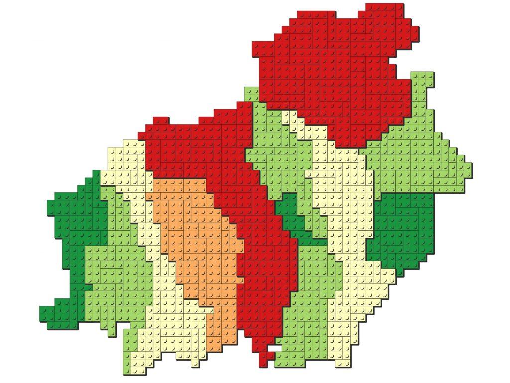 Cara Membuat Peta Lego di QGIS - Hasil Akhir Lego Maps