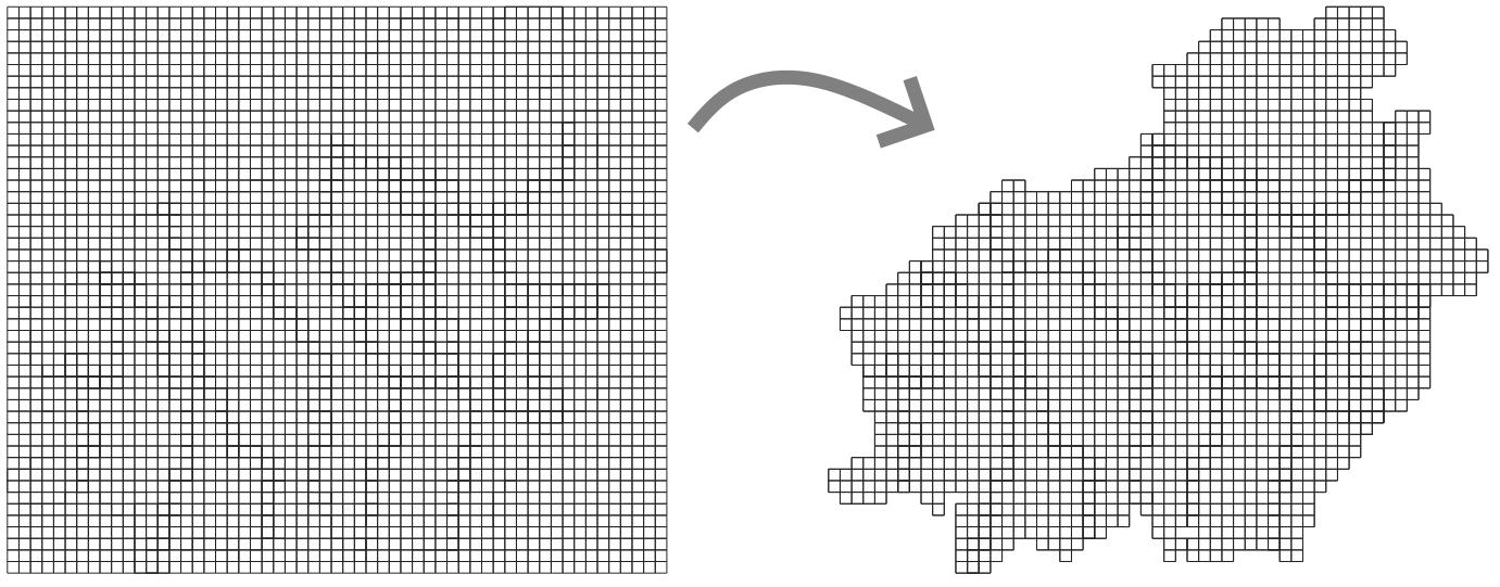 Tutorial Membuat Lego Maps Peta Lego - Menghapus Grid Kosong