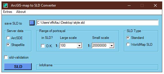 Konversi Simbol Klasifikasi Peta ArcMap ke SLD Style QGIS