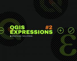 QGIS Expressions 2: Manipulasi Text (String)